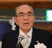 松永 光 大会会長 日本武道館会長
